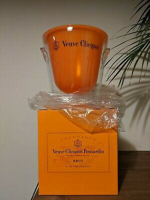 Verve Cliquot Champagne Ice Bucket/Wine Cooler. with box