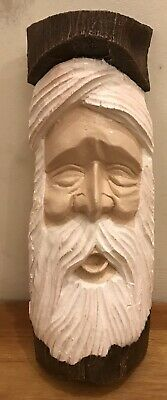Latex Mould for making this unusual Old Man plaque