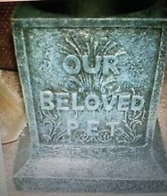 Latex Mould for making this Beautiful Pet Memorial