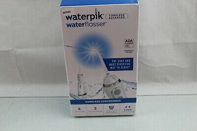 SEALED! Waterpik WP-560 Cordless Advanced Water Flosser - Pearly White 36G83-88