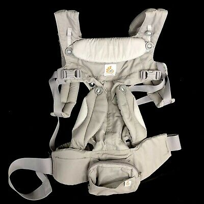 Ergo Omni 360 All Positions Baby Carrier Pearl Gray 7-24 lbs