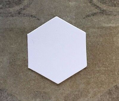 1 in Hexagons 1200 English Paper Piecing  Paper Shapes by All Quilty