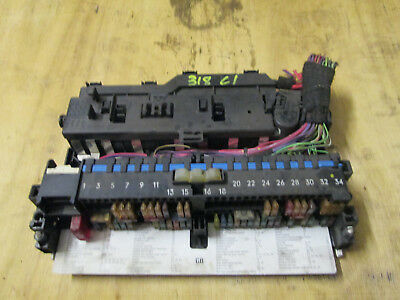 BMW E46 3 SERIES fuse box