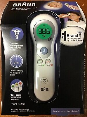 Braun No Touch + Forehead Thermometer NTF3000 - NEW!!!