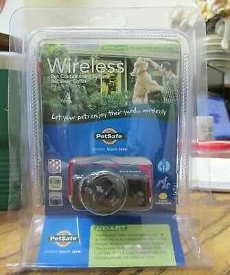NEW!! PetSafe Wireless Pet Containment System Receiver Collar (PIF-275-19)