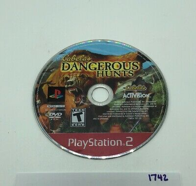 Cabela's Dangerous Hunts (Sony PlayStation 2 PS2) Greatest Hits