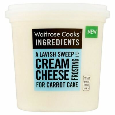 Waitrose Cooks' Ingredients Cream Cheese Icing 400g