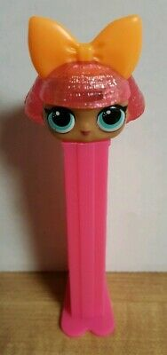 Pez LOL Surprise Girls~ Glitter Queen ~ New but Loose with Covers ~ New Release