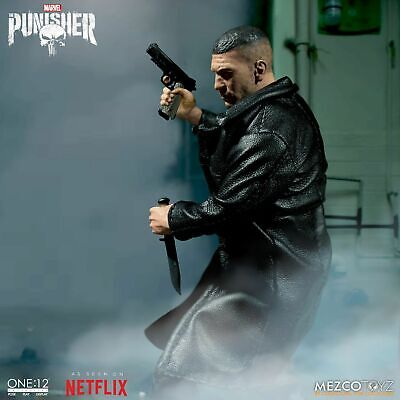 Mezco Toys One:12 Collective: Marvel's Netflix Punisher Action Figure In Stock