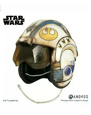Anovos Star Wars Rogue One 1:1 Rey Salvaged X-Wing Prop Replica Helmet NEW