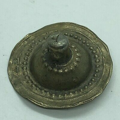 Antique Post Medieval Islamic Middle Eastern Pendant Charm Old Jewelry Metal