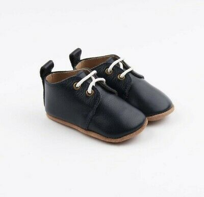 Genuine Leather Baby Oxford Shoe