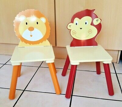 2x Liberty House Jungle Kids Chairs