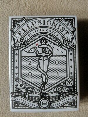 """1 NEW SEALED Deck Ellusionist Team E """"E-Deck"""" Limited Edition Playing Cards RARE"""