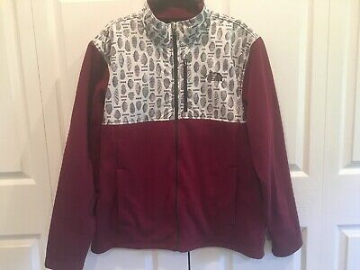 NWT The North Face Mens Tundra Fleece Jacket Extra Large XL NEW Deep Garnet Red