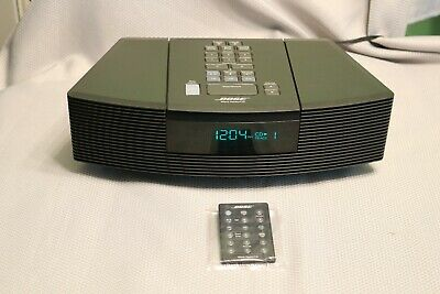 Bose Awrc-1G Wave Radio CD Player Am/fm Alarm W/REMOTE VERY NICE! -WORKS GREAT!!