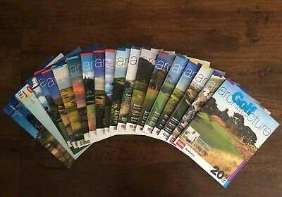 Golf Architecture Journal set of 19