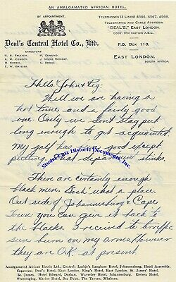 Sam Snead early letter - his golf has been good but his putting stinks!