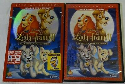 Lady and the Tramp II: Scamps Adventure (Blu-ray Only Missing DVD,2012) Disney