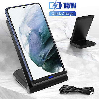 For Apple Watch Airpods iPhone 11/XS Max/X 3 in 1 Qi Wireless Fast Charger Stand