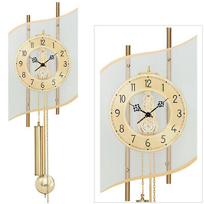 Ams 51 Home Watch Mechanical Pendulum Living Room Clock Strike on Bell 713