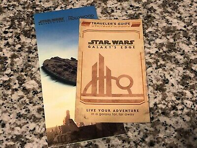 Walt Disney World Star Wars: Galaxy's Edge Traveler's Guide and Opening Day Map