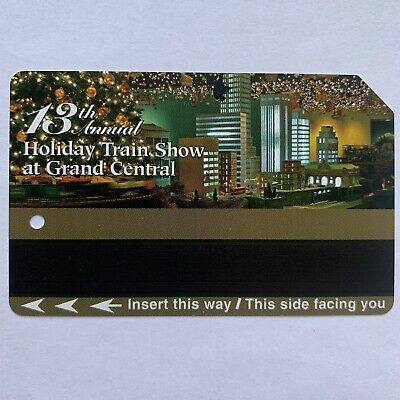 Holiday Train Show Metrocard - Expired in Good Condition *Collectible Item*