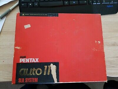 """""""Rare"""" """"As Is"""" Pentax Auto 110 SLR SYSTEM in BOX"""