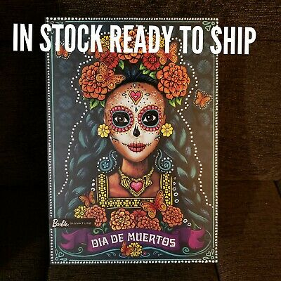 Barbie Dia De Los Muertos Doll, 2019, FREE INTERNATIONAL SHIPPING New In Box