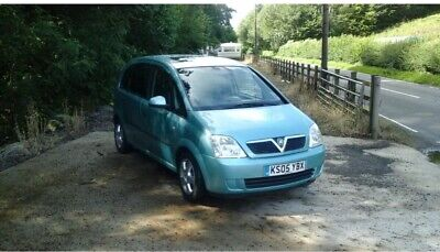 Vauxhall meriva automatic lady owner warranted mileage