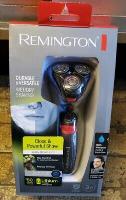 Remington Rotary Shaver 4000 Wet Dry Shaving Waterproof PR1340