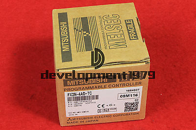 FX2N-4AD-TC Mitsubishi Analog Thermocouple Input Module NEW IN BOX