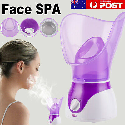 For Face SPA Nymph Spa Home Facial Steamer Sauna Pores Office Deep Cleanse NEW