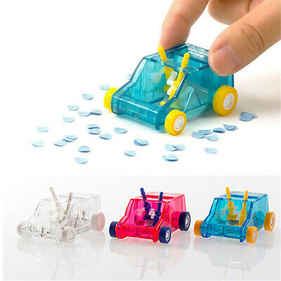 Mini Car Table Dust Cleaner Keyboard Dust Cleaner Pencil Eraser Confetti Sweeper