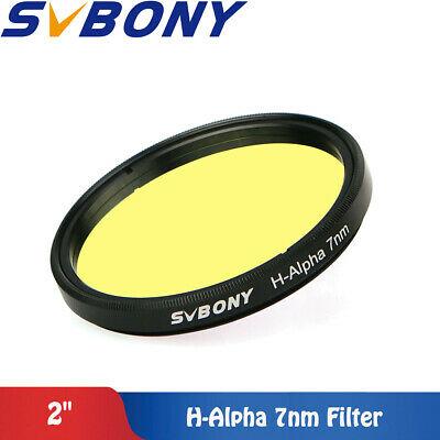 "SVBONY H-Alpha Filter 2"" 7nm Narrowband Astronomical Photographic TelescopFilter"