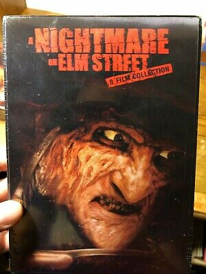 A Nightmare on Elm Street 8 Film Collection LENTICULAR FREDDY VERY RARE DVD NEW