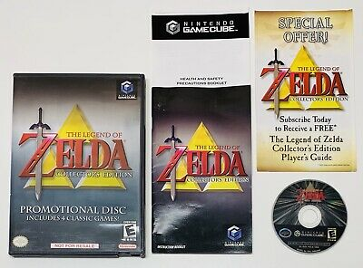 Legend of Zelda Collector's Edition (Nintendo GameCube, 2003) COMPLETE FAST SHIP
