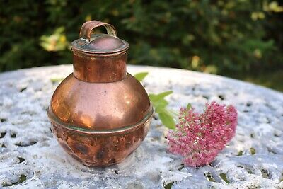 Vintage Copper Pot, Decorative, Kitchenalia, Garden, Planter. #14