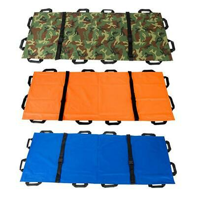 12 Handles Stretcher First Aid Medical Patient Emergency Sports Injury Rescue