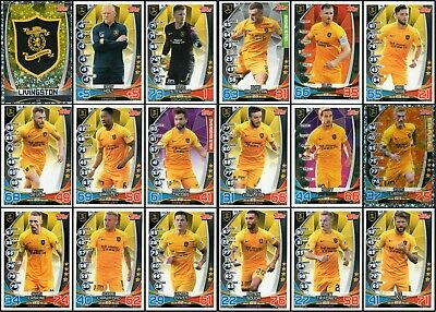 TOPPS SPFL MATCH ATTAX 2019/20 19/20 LIVINGSTON 18 CARD TEAM SET inc BADGE