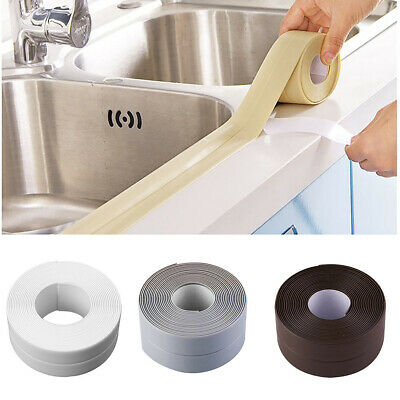 DIY Self adhesive Waterproof Bathroom PVC Wall Sticker Kitchen Decor 4 Colors