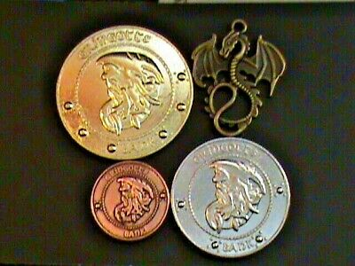 MEDIEVAL~Game Of Thrones/Lord Of The Rings/Harry Potter~Gringotts DESIGN Coins