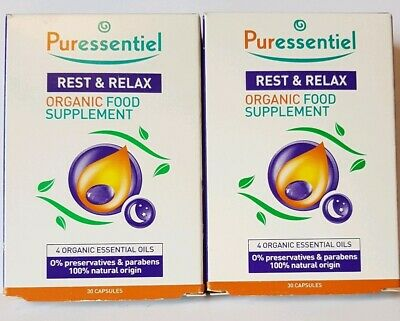 Puressential Food Supplement Capsules (2 Pack 2x30 Capsules) 60 in total