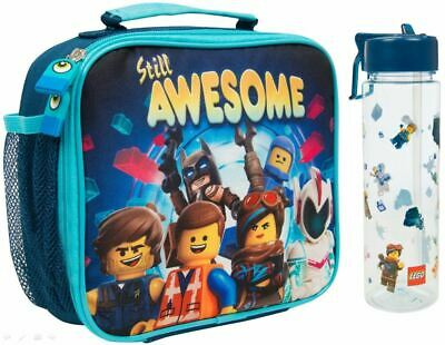 Official Lego Movie 2 Nursery / School Lunch Bag and 600 ml Water Bottle
