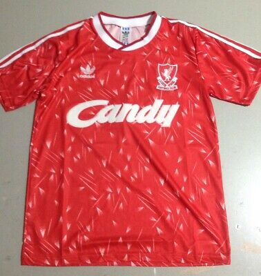 Liverpool 1989-1990 League Champions Home Retro Shirt (Extra Large size)