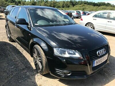 2010 Audi A3 Sportback 2.0 Tdi Black Edition **10 Audi Stamps, 1F/Ownr, Lovely**