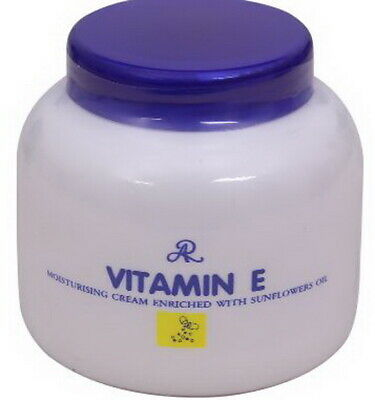 DHL EXPRESS 6 pcs. AR Vitamin E Moisturizing Cream Nature Sunflowers Oil 200ML