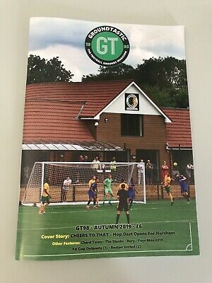 Groundtastic The Football Grounds Magazine Issue 98 Gt98 New Issue