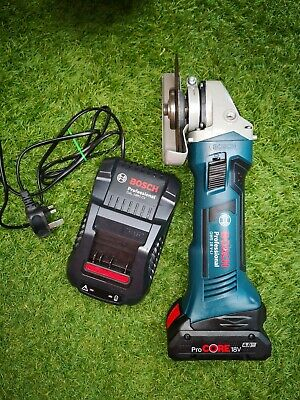 Bosch GWS 18V-Li 115 angle Grinder+Brand New ProCore 4Ah Battery & fast charger