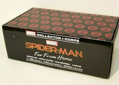 Marvel Collector Corps Spider-Man Far From Home July 2019 Funko POP! complete
